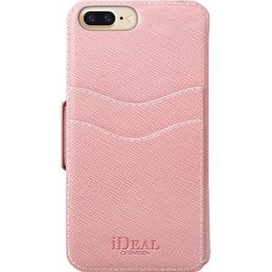 IDEAL Fashion Plånboksfodral till iPhone 6, 6S, 7, 8 Plus - Rosa