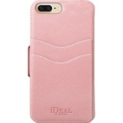 IDEAL Fashion Plånboksfodral till iPhone 6, 6S, 7, 8 Plus - Rosa