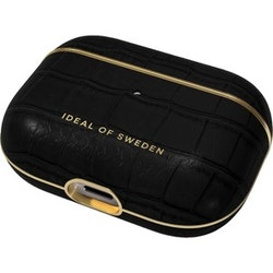 iDeal Of Sweden Carrying Case Apple AirPods Pro - Jet Black Croco