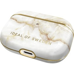 iDeal Of Sweden Carrying Case Apple AirPods Pro - Golden Pearl Marble