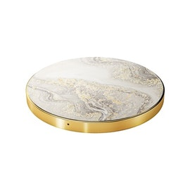 iDeal of Sweden fashion Qi laddare - Sparkle Greige Marble