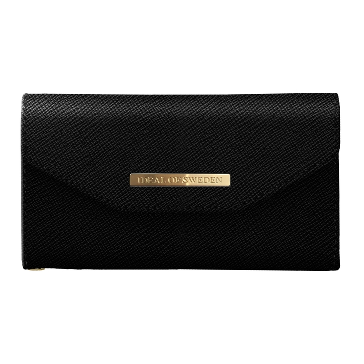 IDEAL MAYFAIR CLUTCH IPHONE 6/6S/7/8/SE 2020  - SVART