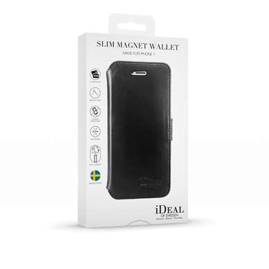 iDeal Of Sweden Slim Magnet Wallet iPhone 6, 6s, 7, 8, SE 20 - Svart