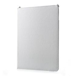 """Litchi Fodral med Roterbar Stativ för iPad 9.7"""" & iPad Air-Air2 - Vit"""