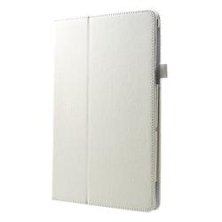 Läderfodral för Samsung Galaxy Tab A 10.5 - Vit