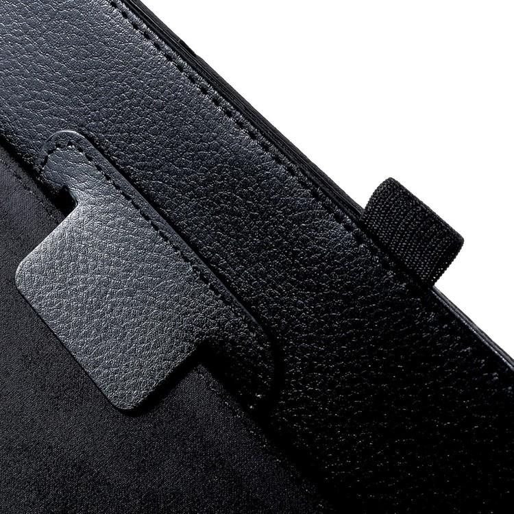 Läderfodral för Samsung Galaxy Tab A 10.5 - Svart