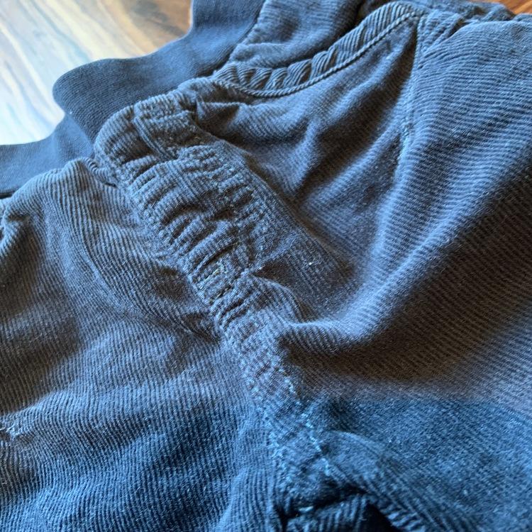 Blå manchesterbyxor från Newbie stl 50