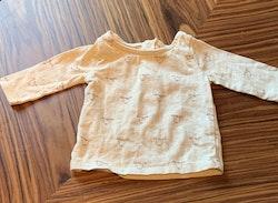 Beige tröja med djurtryck från Next stl 50