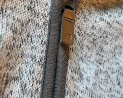 Myströja med öron i grått och vitt från HM stl 50