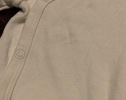 Vit omlottbody och byxor från HM stl 56
