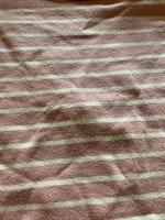 Tvådelat set med body och byxor i ljusrosa med vita ränder från Name It str 62