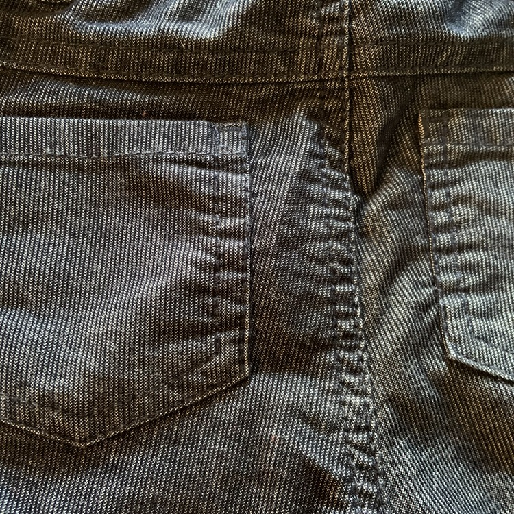 Mörkblå snygg byxor från Lindex stl 62