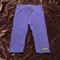Blålila leggings från Villervalla str 62