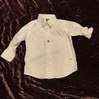 Vit skjorta från Papermoon stl 3-6 mån