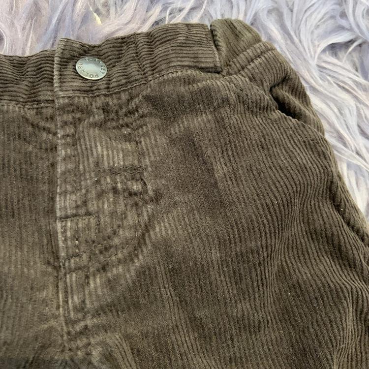 Mörk bruna manchester byxor från PoP stl 68