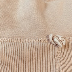 Ljusrosa ribbade leggings från Lindex stl 56