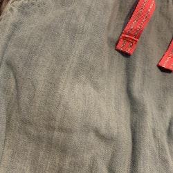 Ljusblå fodrade mjuka jeans från HM stl 68