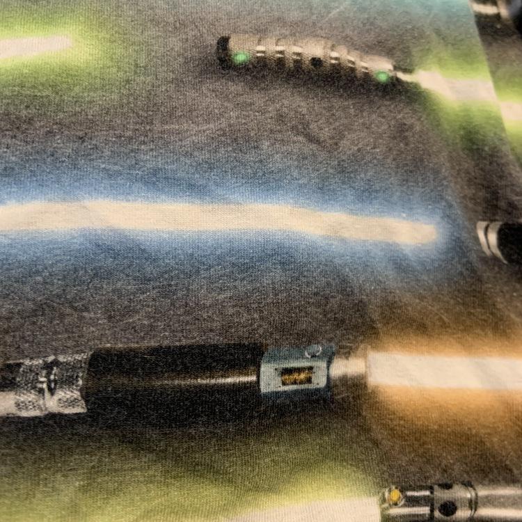 Gråmelerad body med ljussvärds mönster från Molo stl 68