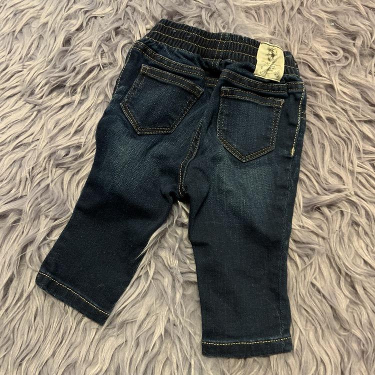 Jeansleggings i en mörkblå ton från Ralph Lauren stl 74