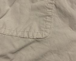 Vita hängselbyxor från Zara stl 74