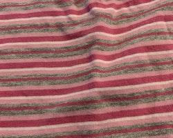 Rosa, ljusrosa, vit och grå randig topp från Lindex stl 98
