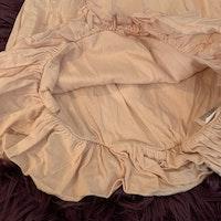 Ljusrosa kortärmad ballong klänning från BabyGap stl 80