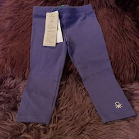 Lila leggings från Benetton stl 82