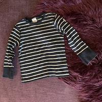 Mörkblå och vit randig tröja från PoP stl 86