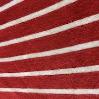 Röd och vit randig body från PoP stl 80