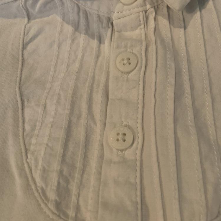 4 delat blåvitt paket med finkläder från Newbie stl 80 + 86