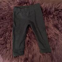 Mörkblå leggings från Lindex stl 74