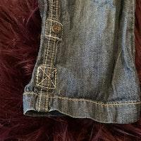 Tunna jeans med Bamse brodering från Lindex stl 80