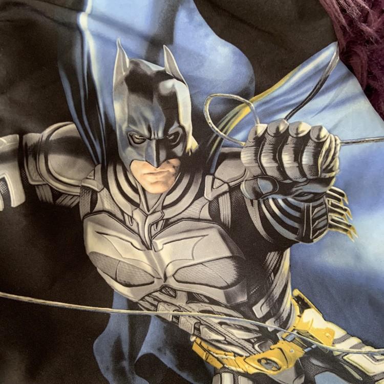 Svarta badbyxor med Batman från HM stl 98/104
