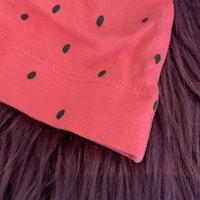 Set med shorts och mössa med vattenmelonmönster från HM stl 50