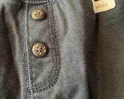 Mörkblå mysbyxor från Newbie stl 86