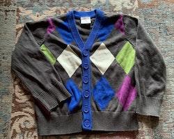 3 delat tröjpaket med två koftor från PoP stl 98