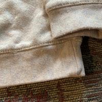 Collegetröja melerad i grått, rosa och vitt med tryckt och broderad kanin från Zara stl 68