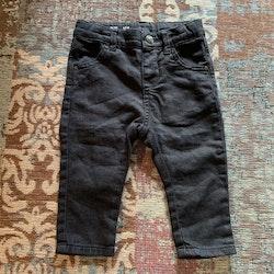 Svarta stretchjeans från Lindex stl 68