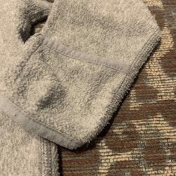 Grå fleecetröja från PoP stl 62