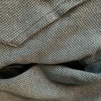 Turkos och silvermelerad tjocktröja med avtagbar huva, dragkedja, fickor och draktaggar från PoP stl 86