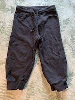 3 delat paket med svarta byxor stl 92
