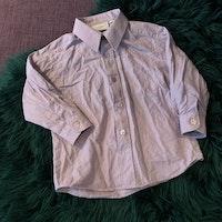 Ljuslila skjorta från Kappahl stl 86