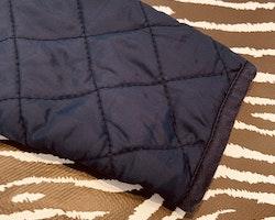 Mörkblå quiltad jacka från Name it stl 86