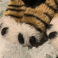Tigertasstossor från HM stl 74/80