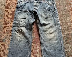 Blå jeans från Molo stl 104