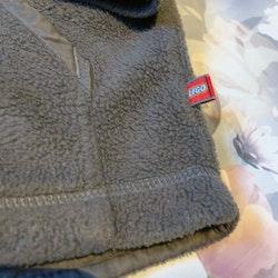 Grå fleecetröja/jacka från Lego Wear stl 98