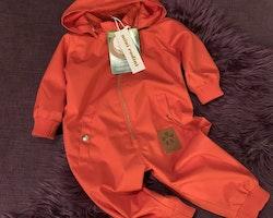 Röd pico overall från Mini Rodini stl 68