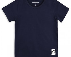 Marinblå t-shirt från Mini Rodini stl 68/74