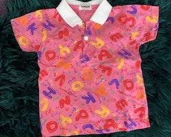 8 delat mestadels rosa sommarplagg paket stl 86 + 86/92