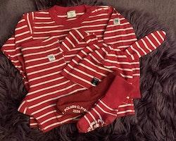 5 delat randigt paket i rött och vitt från PoP stl 92 + 48/50 + 19/21 & 22/24